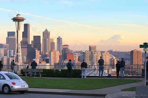 Shooting at Kerry Park Viewpoint 2007