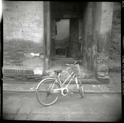 Bike andd Door, Ping Yao, China, 2005