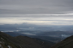 Smoking skin (All the good names have already been taken) Tags: mountain portugal smoke estrela nuvens serra clowds fumo outstandingshots