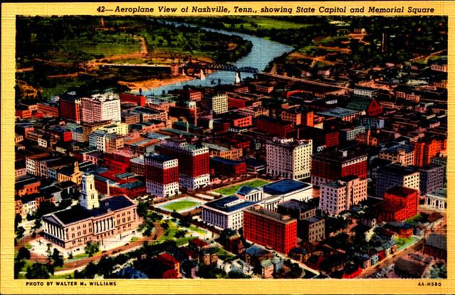 Aeroplane View of Nashville