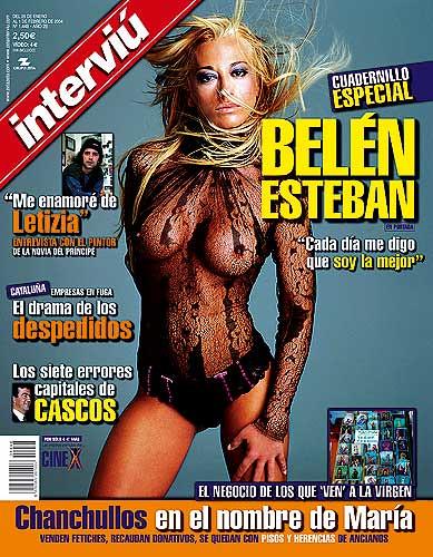 Belén Esteban portada de Interviú