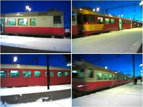 Fokot(06). Lähijuna Mikkelissä