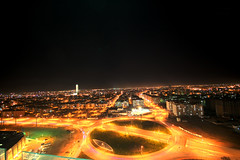 Konya Night (Hseyin etin) Tags: road light black night turkey studio fotograf trkiye turquie layer turquia desing konya turchia turkei huseyin hseyin cetin iconium etin