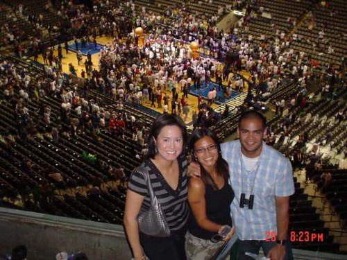 Yvette Szkudlarek @ NBA 2006 finals championship