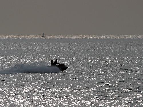 海にて 2