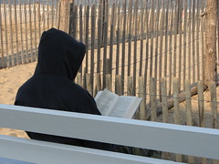 Hooded Reader (by Big Mike 42)