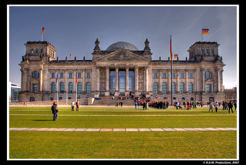 Berlin - Reichstag - HDR