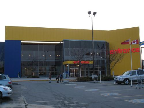 Entering IKEA
