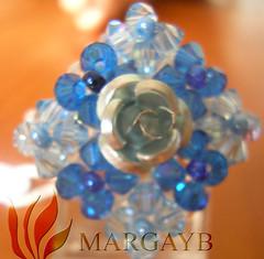 9 flores (creaciones-mayabe) Tags: anillos