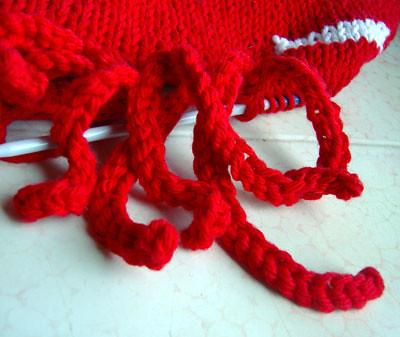 silly knit fringe