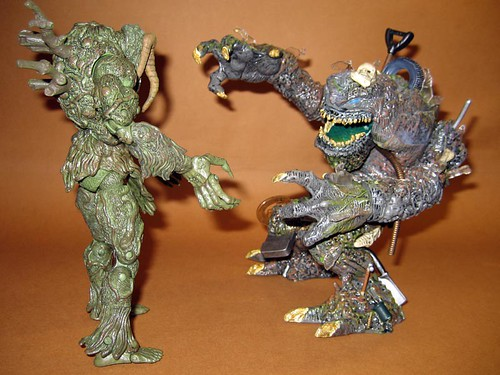 Man Thing vs. The Heap