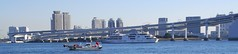 TOKYO RAINBOW BRIDGE (patrick555666751) Tags: tokyo rainbow bridge ponts pont puente puentes bridges tokyorainbowbridge nihon nippon cipango jipangu japao giappone japo edo kanto honshu tokio toquio japon japan asie est east asia building buildings brucke