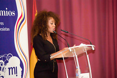 Presentadora Premios 2016