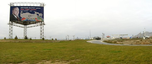 BP Sangachal Oil and Gas Terminal, Sangachal, Azerbaijan / BP石油サンガチャル・ターミナル(アゼルバイジャン、サンガチャル町)