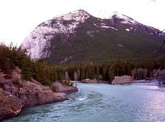 The Bow (The Raj the One and Only) Tags: mountain alberta banff bowriver