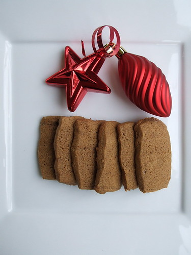 ginger cookies for Christmas