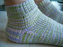 Cascade Fixation Ankle Socks Gusset