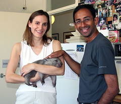 Meghan and Shami with Jody