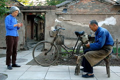 New 263 (Luo Shaoyang) Tags: china street men nikon women chinese bikes    madeinchina streetshot luo   luoshaoyang