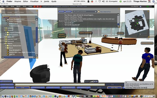 Second Life dans les entreprises