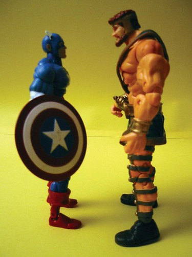 Captain America and Hercules