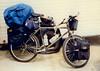 Florida to Alaska on a Bicycle (#1) - Starting Point:  Largo, Florida (worldwidewandering) Tags: trip travel usa bicycle alaska america ride cross florida united country crosscountry 1997 states largo bicycletour al1997 worldwidewandering