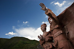 Statue of Princess Wen Cheng & Songsten Gampo