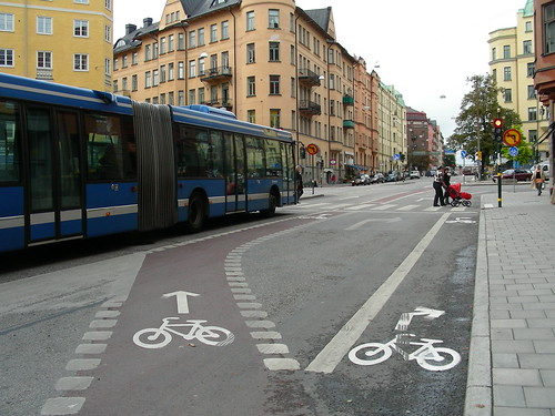 Bicycle Lanes, Stockholm