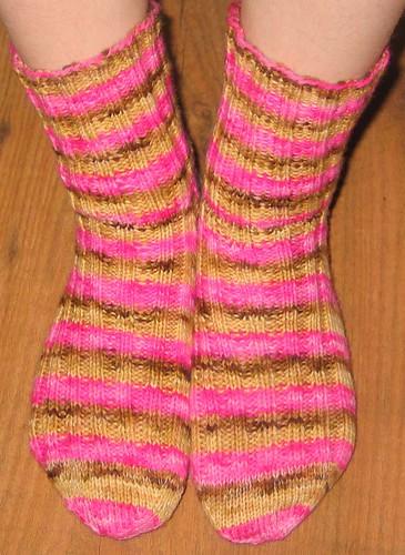 Neopolitan sock