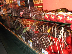 Chocolatey fruit treats at Salzburg's Christkindlmarkt