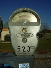 Parking Meter on the Riverfront