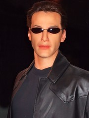 Keanu Reeves as Neo at the SF Wax Museum (1) (mharrsch) Tags: sanfrancisco california film movie wax neo waxmuseum thematrix keanureeves sanfranciscowaxmuseum mharrsch
