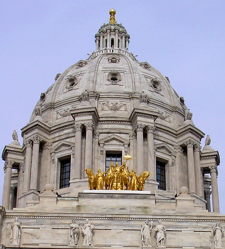 Minnesota State Capitol Dome by cursedthing.