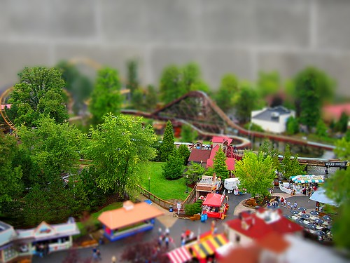 How To Make Fake Dioramas With Ms Paint Tilt Shift Miniature Fakes