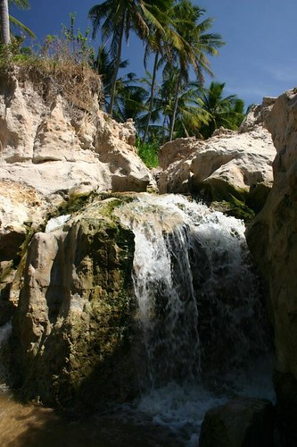 Waterfall, near Mui Ne. December 2006.