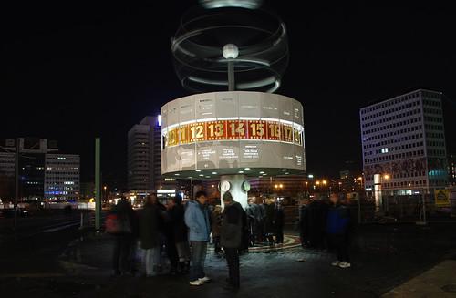 Unter den Linden iluminado. Berlín (2)