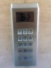 无等待电梯 按键