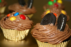 A Dream Turns into Reality!!! (FUNKYAH) Tags: food cake cupcakes yummy mms sweet chocolate cupcake oreo