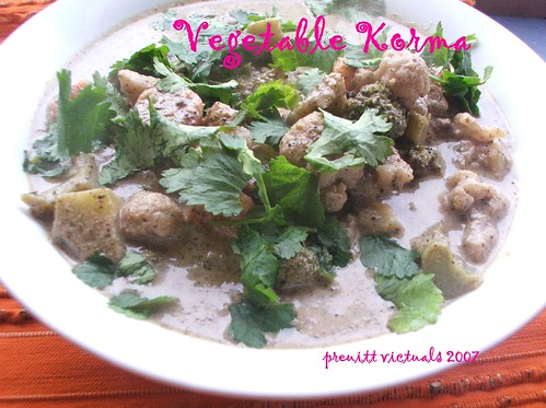 quick and easy recipe vegetable korma