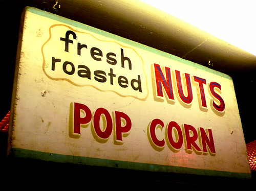 fresh roasted nuts
