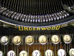 Alte Underwood Schreibmaschine