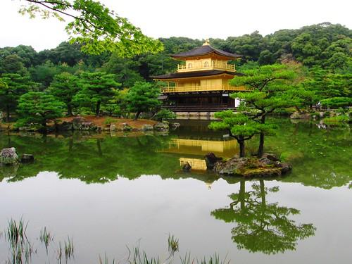 Kinkakuji (Golden Pavilion) Zen temple
