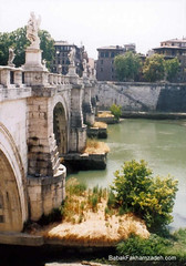 Tiber and bridge