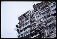Laundry (jamesfischer) Tags: china shanghai balcony laundry february provia 2485mmf284d