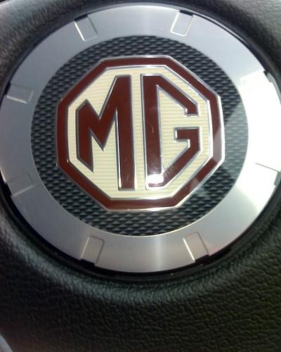 MG ZR Steering Wheel Centre