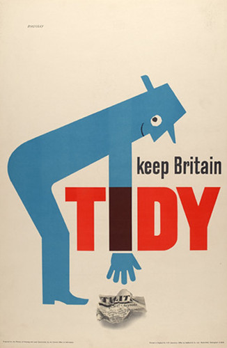 Tom Eckersley, Keep Britain Tidy | Flickr - Photo Sharing!