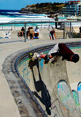 Right Here, Right Now (Knrad) Tags: colors australia skaters skate skateboard bondibeach sidney sk8 skatesurfandphotographyarenotacrime lastessaadrenalinachehoio corradogiulietti