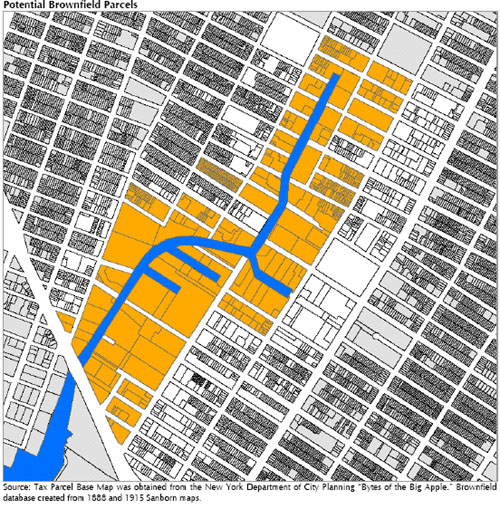 Gowanus Brownfield Map