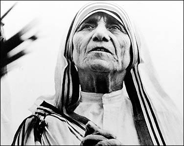 Mother Teressa -generosity