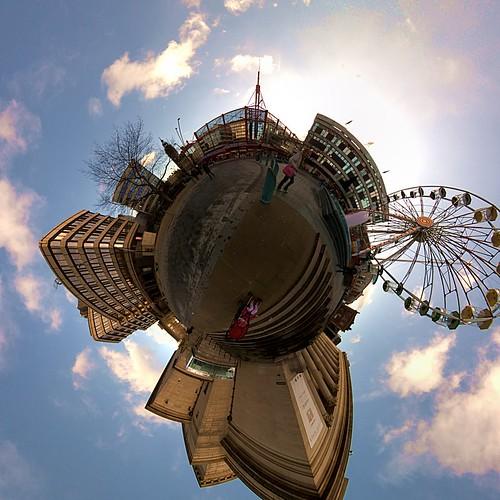 Ferris wheel in Barker's Pool